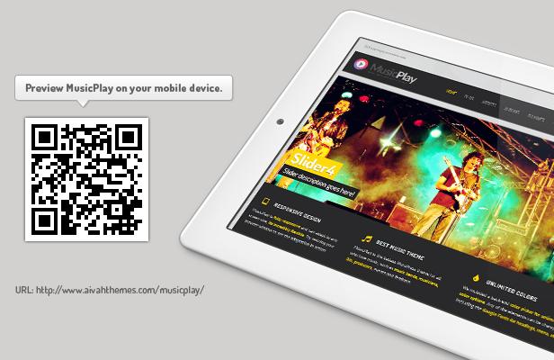 musicplay music amp dj responsive wordpress theme