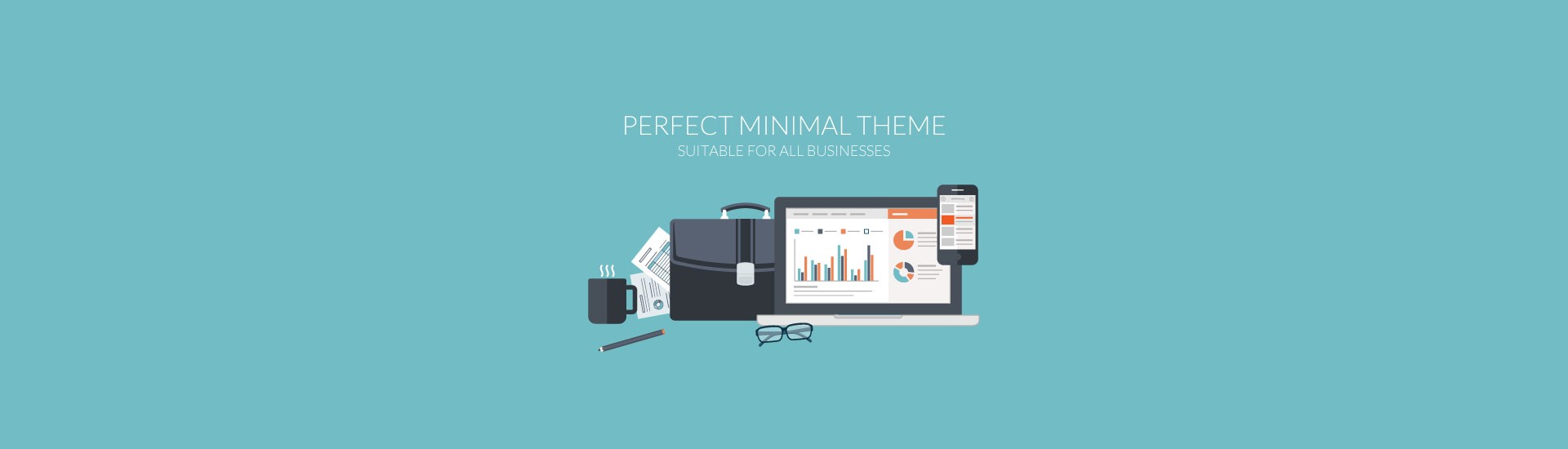 Minimal Designed WordPress Theme